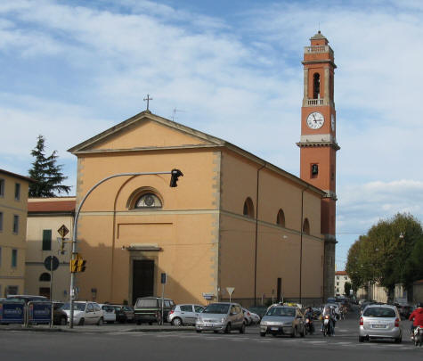 St. Andrew's Church in Livorno Italy